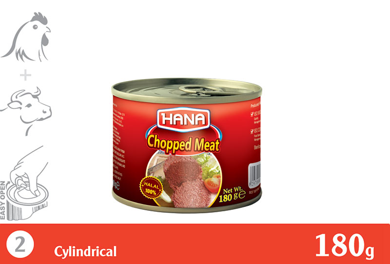 Chicken & Beef Chopped  180 g
