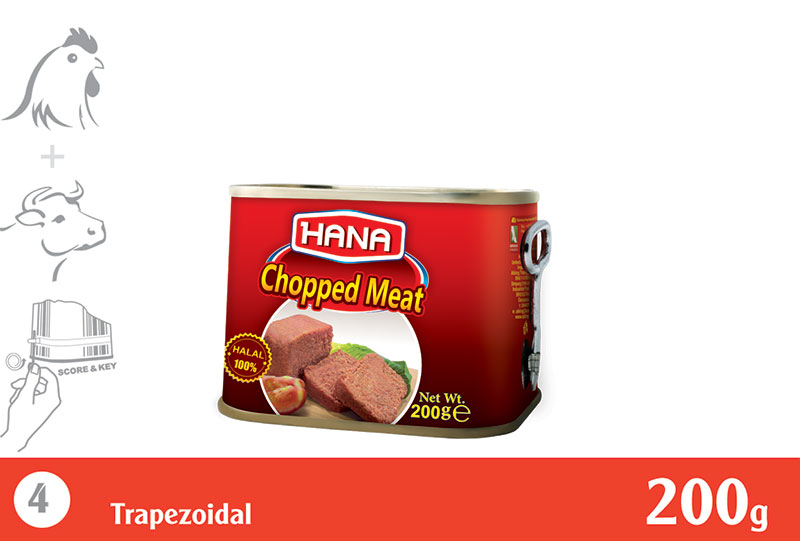 Chicken & Beef Chopped 200 g