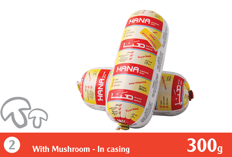 Refrigerated Luncheon Meat With Mushroom 300 g