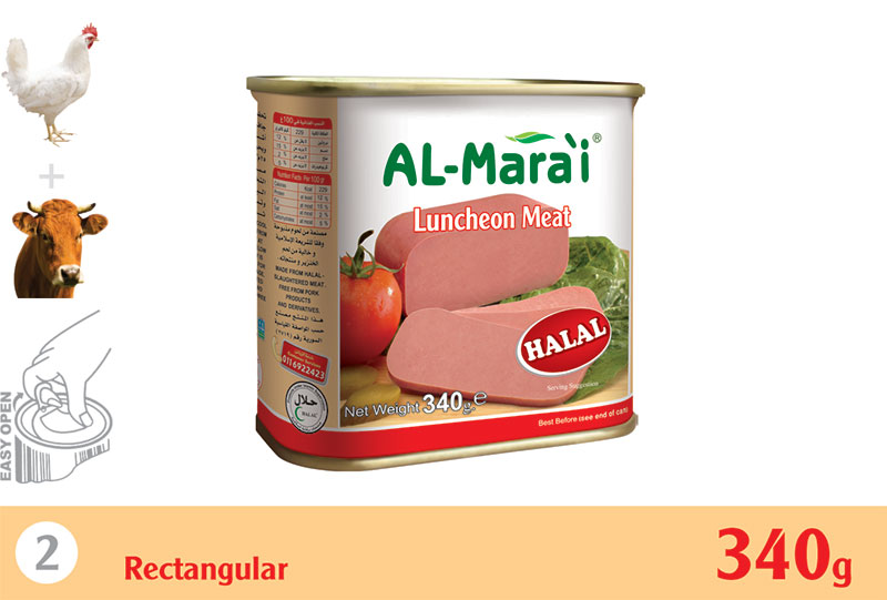 Chicken & Beef Luncheon meat 340g